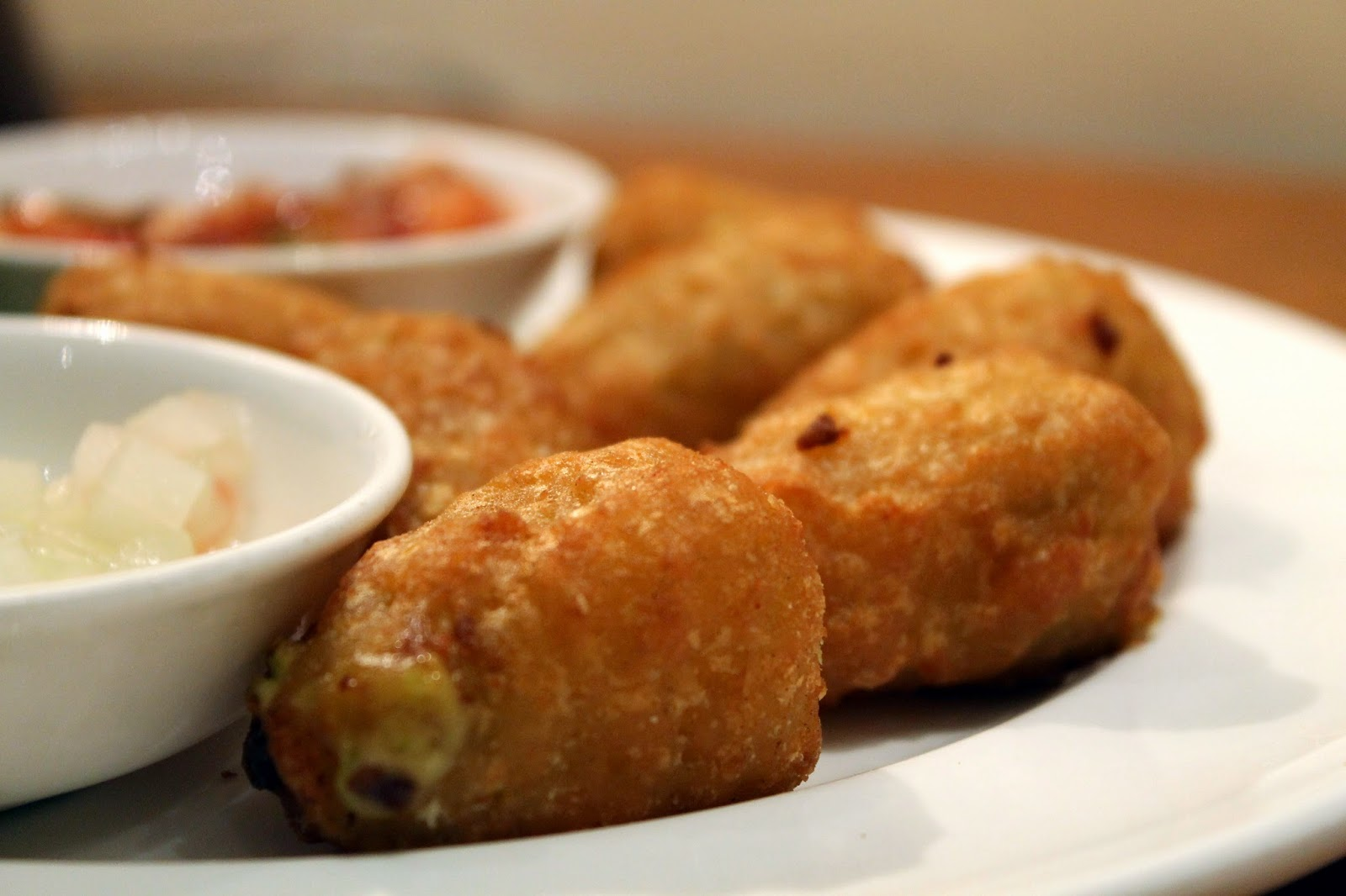 Jalapeño Cheese Poppers at Hyatt's All Day Room Dining - Pune'