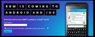 Aplikasi BBM untuk Android dan iOS