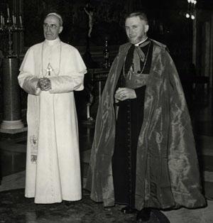 S.S. Papa Pío XII y Monseñor Lefebvre