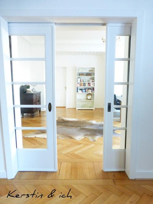 Altbau Villa Schiebetüren Einrichtung Interior