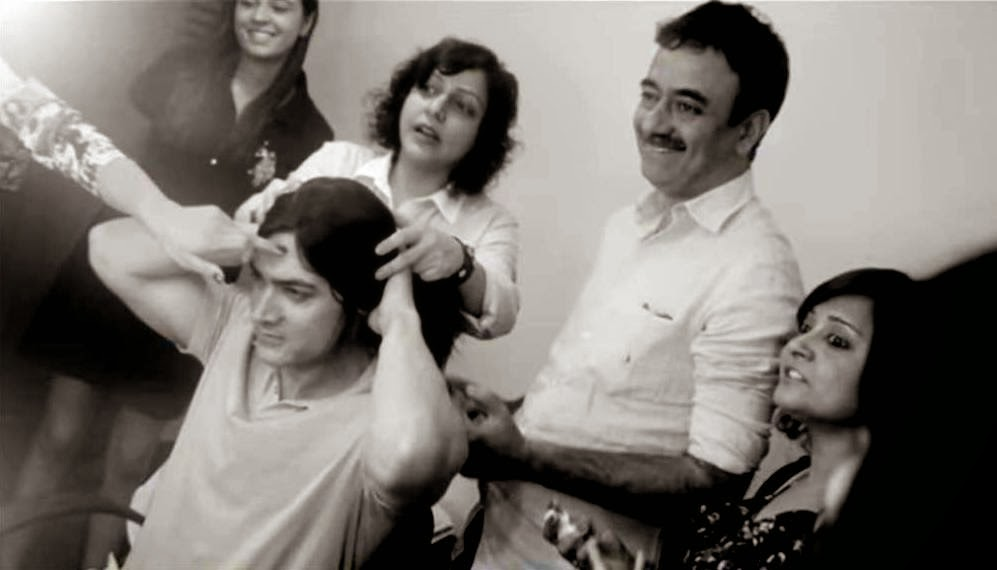 Aamir Khan's Hairdo for PK: Flat Hairstyle
