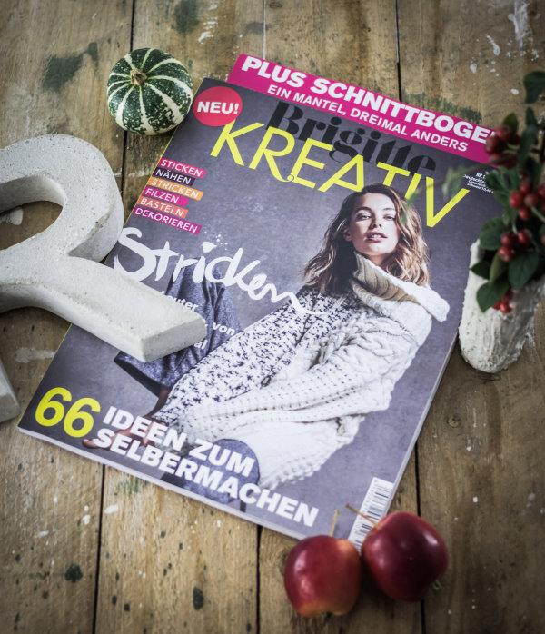 Neu im Zeitschriftenregal: Brigitte Kreativ