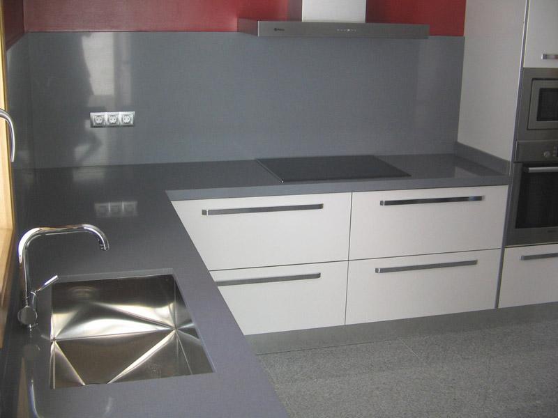Decoracional frentes de cocina nuevas alternativas - Encimeras de cocina silestone ...