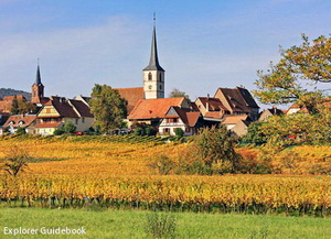Tempat wisata terkenal di Perancis mittelbergheim beautiful village in france