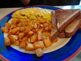 Mile High Omelette