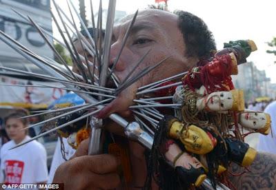 Brutal Rituals of Phuket Vegetarian Festival