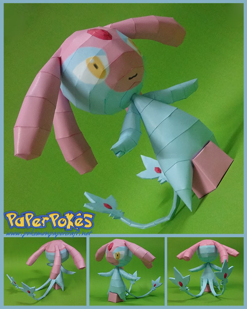 Pokemon Mesprit Papercraft