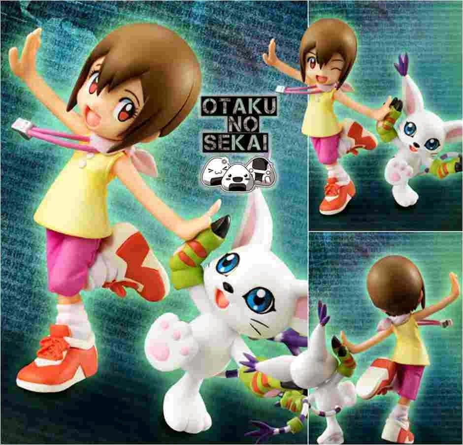 G.E.M Digimon Adventure Hikari Yagami (Kari) & Tailmon (Gatomon)