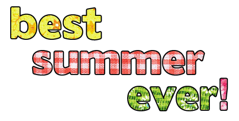 The best summer ever blog
