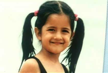katrina kaif childhood photos