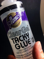 how to make homemade Glimmer Mist, Glimmer Glam, and Glimmer Glaze glue spray