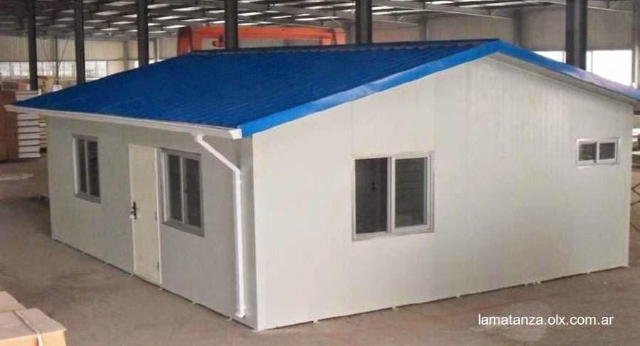 Casa de bajo costo concreto premoledado en Argentina