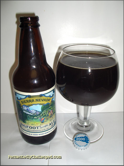 Sierra Nevada Bigfoot barleywine