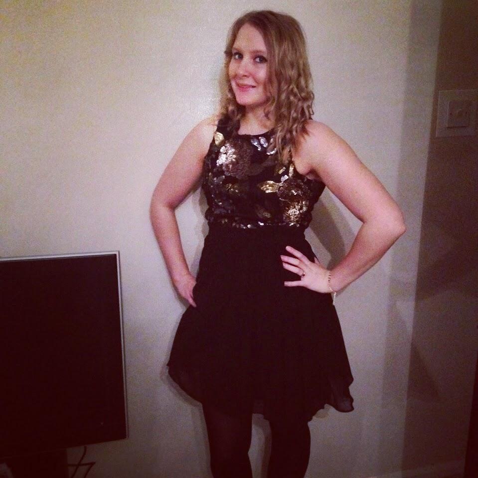 goddess dress, LBD