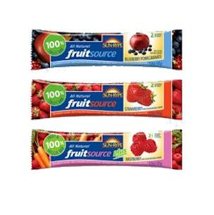 Fruitsource 100% fruits bars