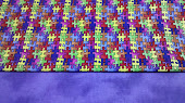Autism Awareness Fabric