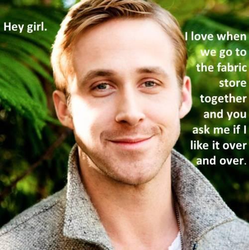 Ryan Gosling Hey Girl Gertie's New Blog for ...