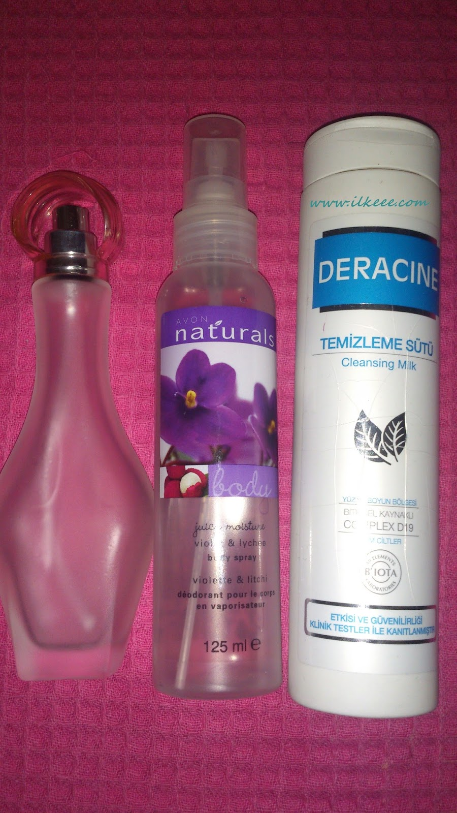 Avon Sensuelle Edp - Avon Naturals Body Sprey kullananlar - Deracine Temizleme Sütü