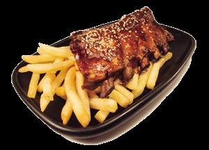 Nueva receta de costillas de franquicia fast food Nachos Tomasa