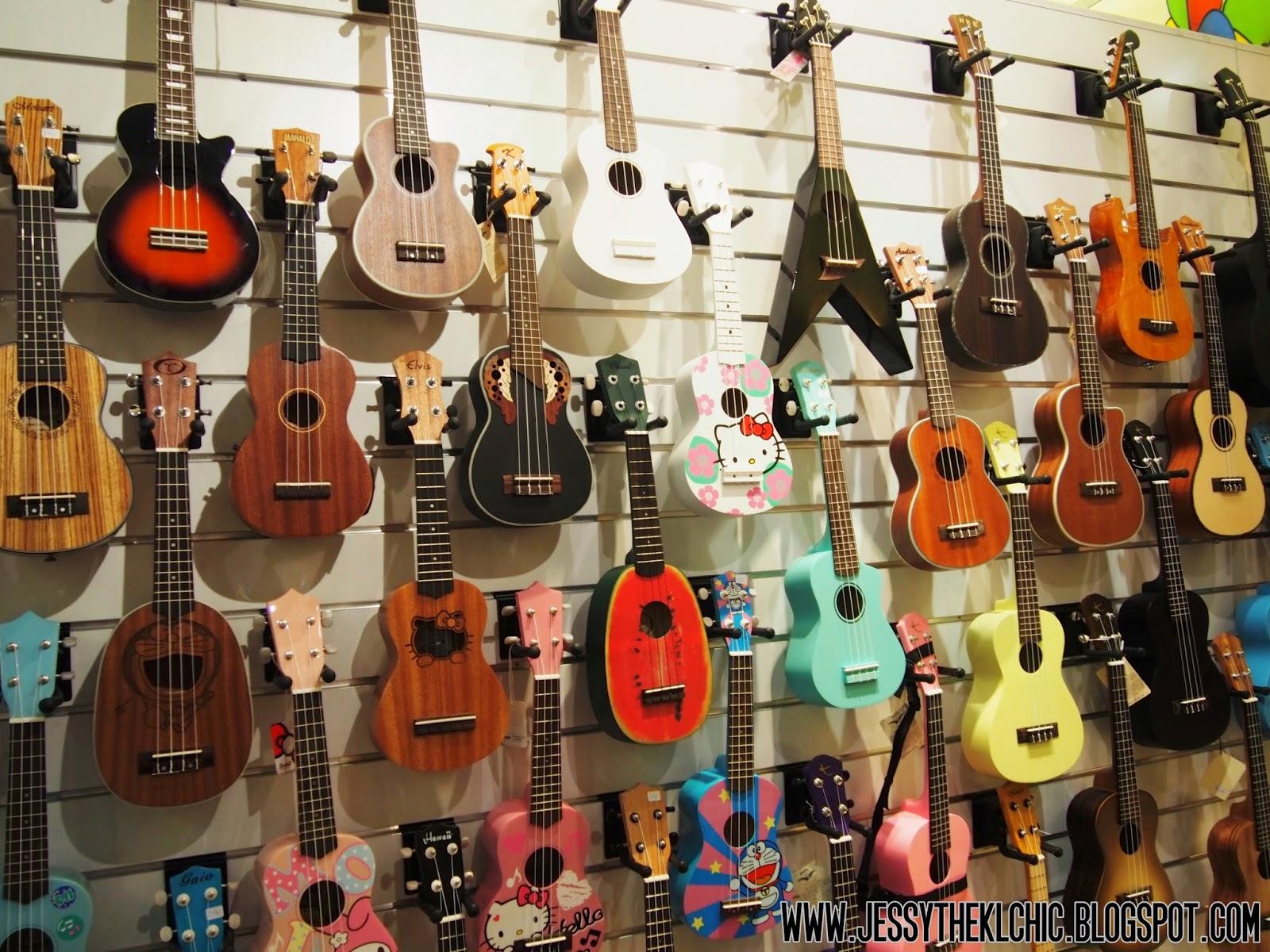 place shaka ukulele club 1 utama mall bandar utama jessy the