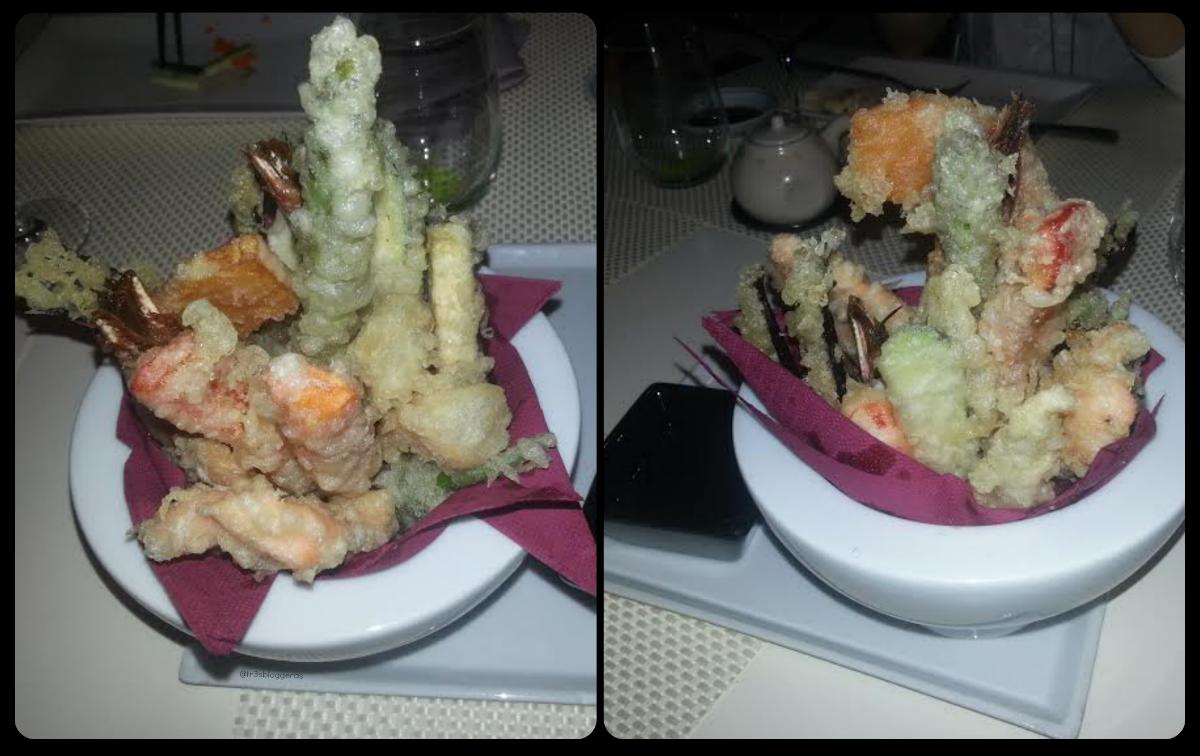 tempuras variadas de verdura y marisco - tastem restaurante japonés valencia