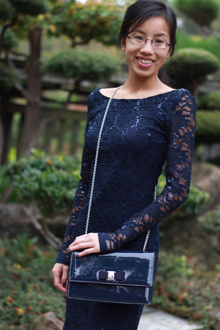 lace dress outfit accessory