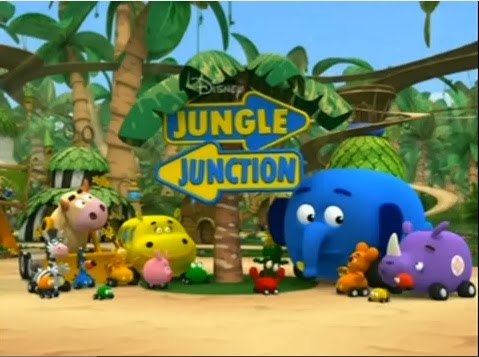 Mewarnai Gambar Jungle Junction
