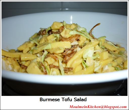 Moulmein kitchen home made burmese tofu salad moulmein kitchen home made burmese tofu salad forumfinder