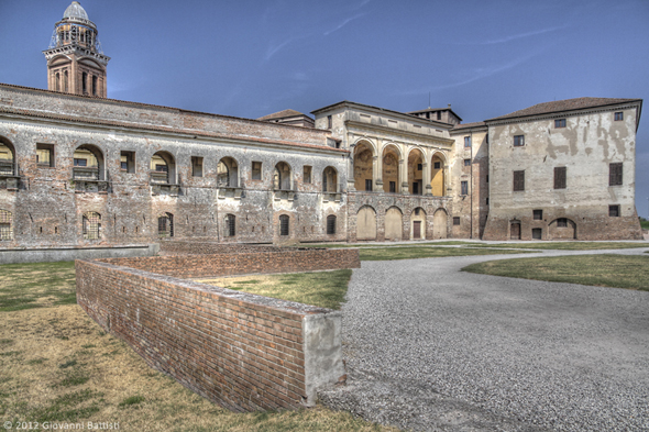 Fotografia in HDR del Palazzo Ducale di Mantova