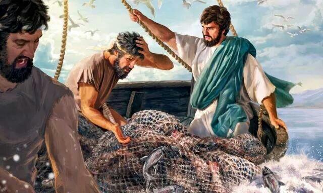 иисус спящий в лодке