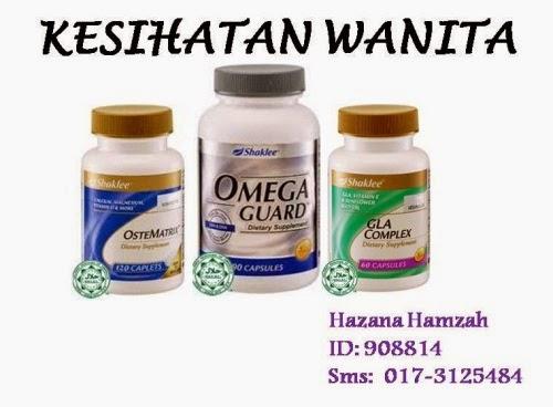 vitamin shaklee untuk kesihatan wanita