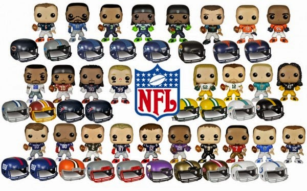 A Geek Daddy Nfl Adds Some Pop With New Line Of Funko