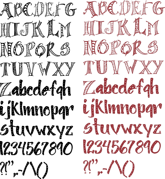 One Line Font Art : Not just any bee doodle art polly wolly font