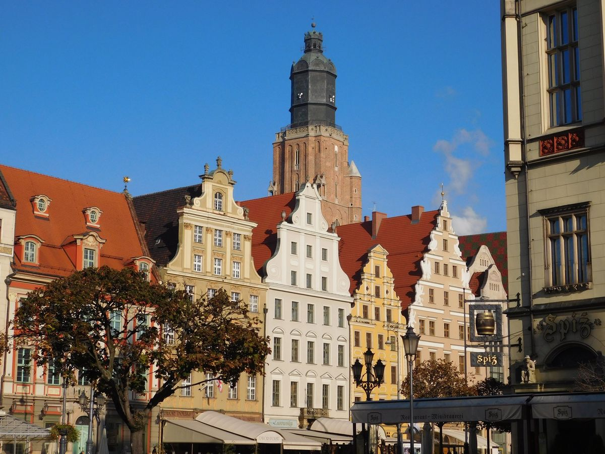 Wroclaw_ Old Town City center