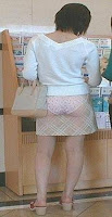 Chinese transparent skirts