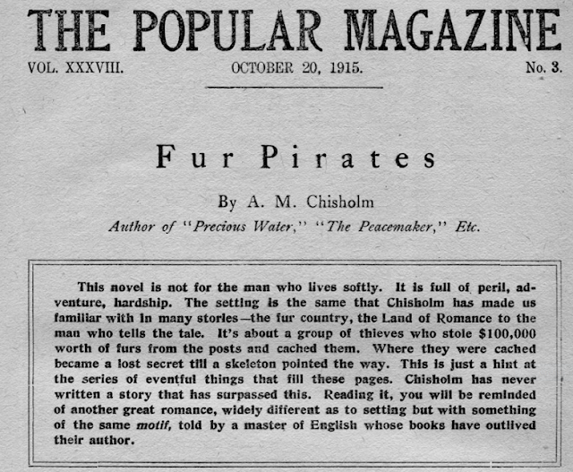 Introduction to Pirates of the Pines, from the editor of the Popular Magazine