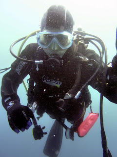 Jo fent submarinisme