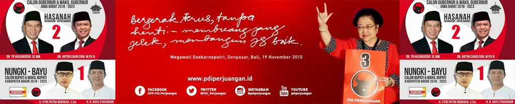 PDI Perjuangan Kabupaten Bogor