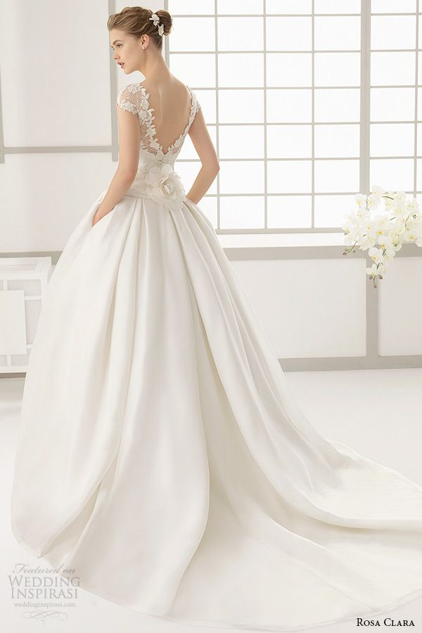 Wedding dress back detail pinterest 2016 for Wedding dress with back detail