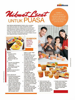 My recipe specially written for SunMoon, featured in Femina, Indonesia's top magazine June 2014.
