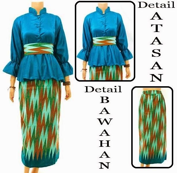 Baju Muslim SEMI SUTRA motif Rang-Rang