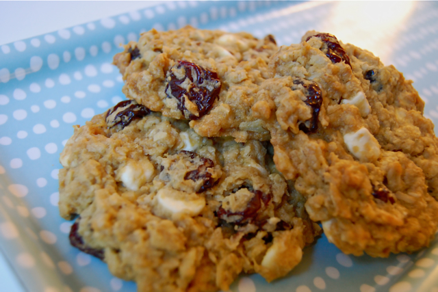 ... and Spice: Spice in the Kitchen: Heavenly Lemon Cherry Oatmeal Cookies