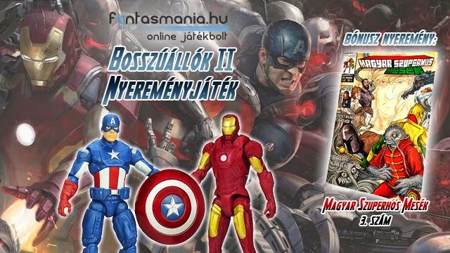 Bosszúállók 2 nyereményjáték - by Fantasmania