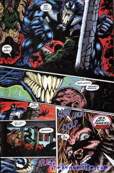 Relive the horror of Venom: The Hunger on Marvel Digital Comics Unlimited