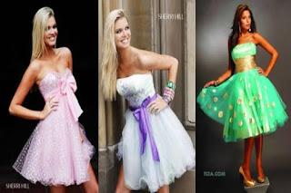 modelos de vestidos românticos