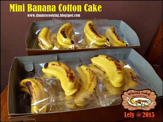 Mini Banana Cotton Cake