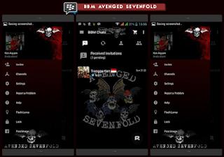 BBM Avenged Sevenfold V2.10.0.31 Apk