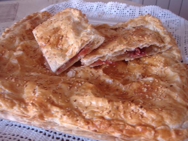 PASTEL CORDOBÉS DE JAMÓN SERRANO (salado-dulce)