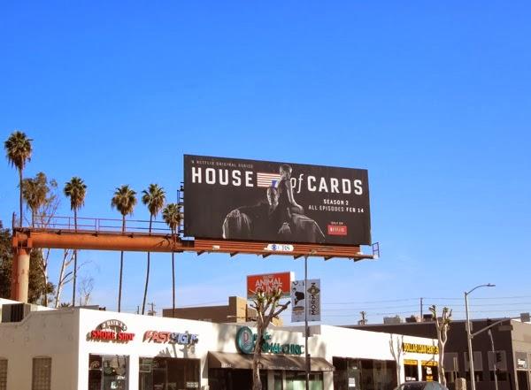 House of Cards season 2 billboard