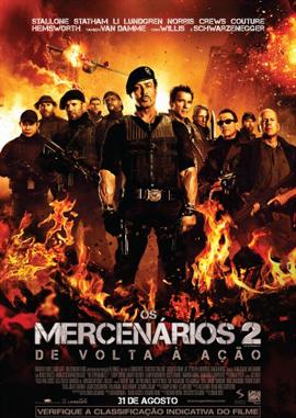 Filme Poster Os Mercenários 2 TS XviD Dual Audio & RMVB Dublado